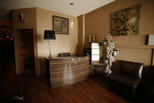 Hands on Health Port Colborne - Niagara Therapy, Wellness and Massage Spa - Foyer Picture